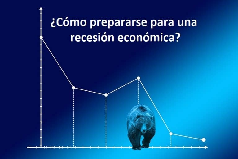 ¿Cómo prepararse para una recesión económica?